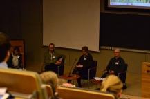 EduGrow-tutkimusseminaari: Sara Routarinne, Joel Kivirauma, Tuija Tammelander ja Tuomas Martikainen
