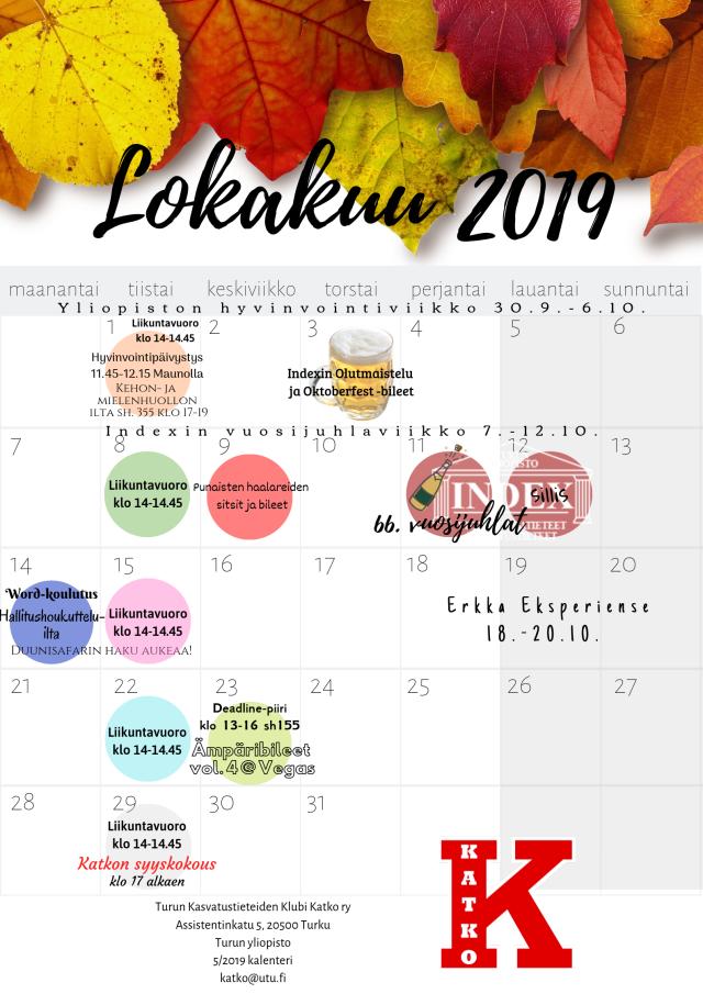 Lokakuu 2019